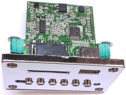 mp3 hardware decoder board(6 button + panel )