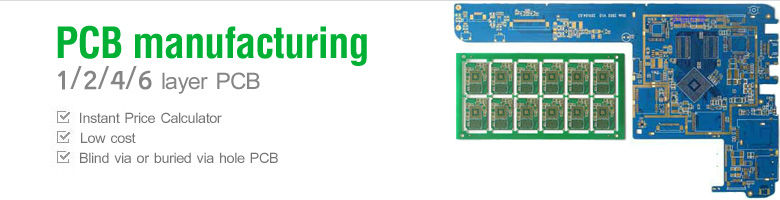 Low cost 4 layer PCB Prototyping
