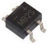 Bridge Rectifier MB2S 0.5A