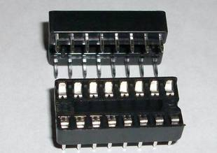2 x IC sockets for 8 pins DIP16 ICs