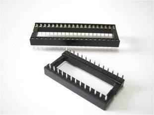2 x IC sockets for 14 pins DIP28W ICs