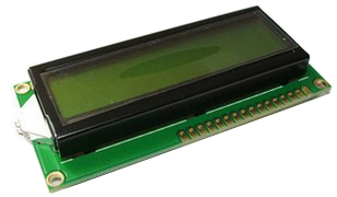 LCD 1602 Green color