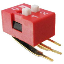Right Angle Series Slide Dip Switches 2pin
