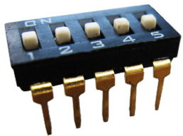 DIP IC Type Switches 5 pin x 2 row