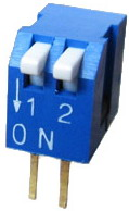 Piano Dip Switches 2 pin x 2 row