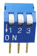 Piano Dip Switches 3 pin x 2 row